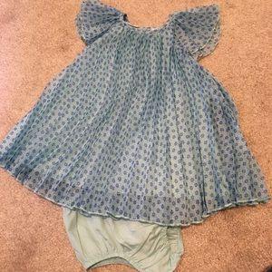 Flowy Aqua Dress
